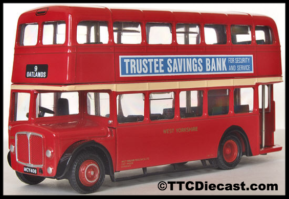 Efe 19707 aec regent v mcw west yorkshire road car co for Cannon motor company preowned