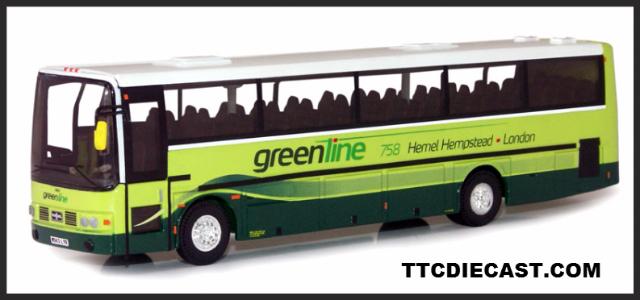 Hampstead Pre Owned >> CORGI OM42704 A DAF SB3000 Van Hool Alizee Green Line ...