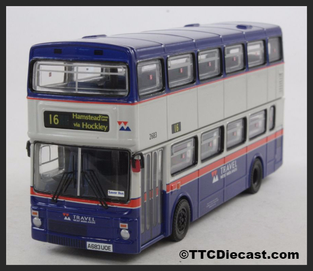 CORGI OM45107 MCW Metrobus II Travel West Midlands - PRE OWNED
