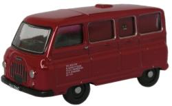 76JM022 Oxford Diecast 1:76 Scale OO Gauge Morris J2 Minibus British Army HQEC