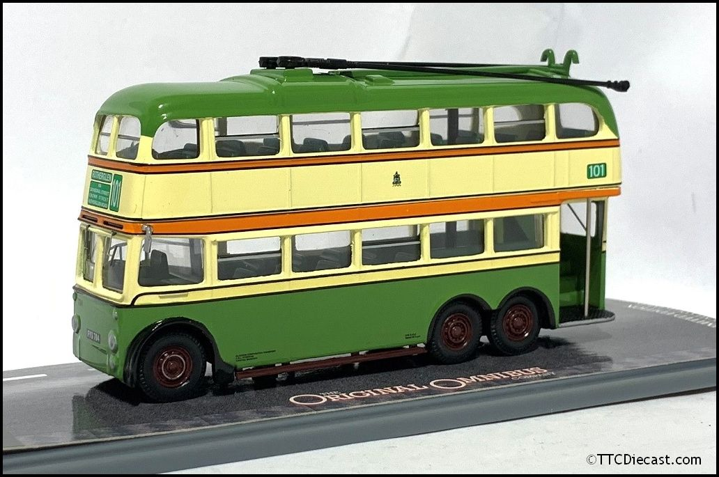 CORGI OM43706 BUT 9641T Metro Cammell Trolleybus Glasgow Corporation