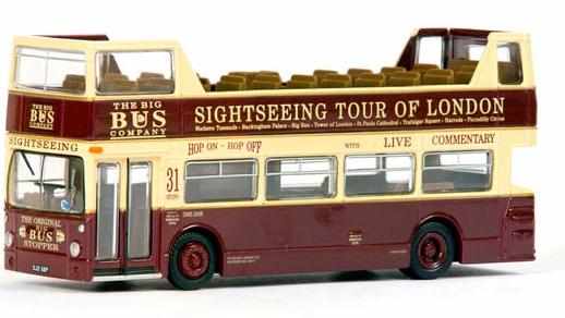 EFE 27901 Daimler Dms Open Top - Big Bus Co