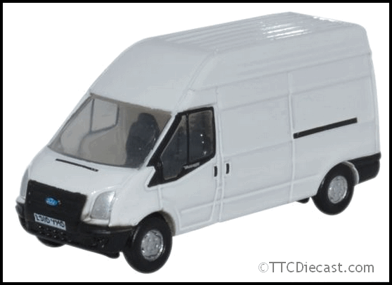 Oxford Nft006 Ford Transit Lwb High Roof White
