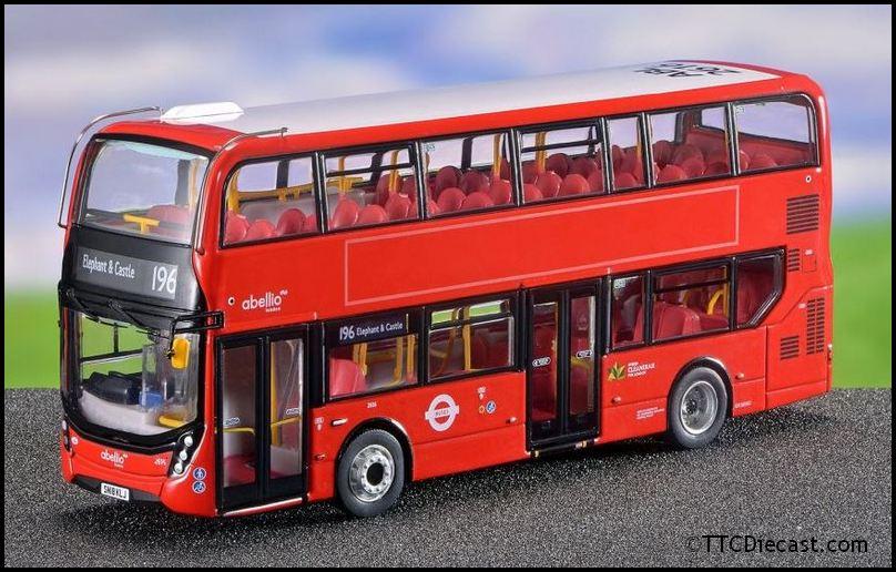 Alerte Northcord Ukbus 6509 Adl Enviro 400mmc-abellio London Transport-afficher Le Titre D'origine Convient Aux Hommes, Femmes Et Enfants