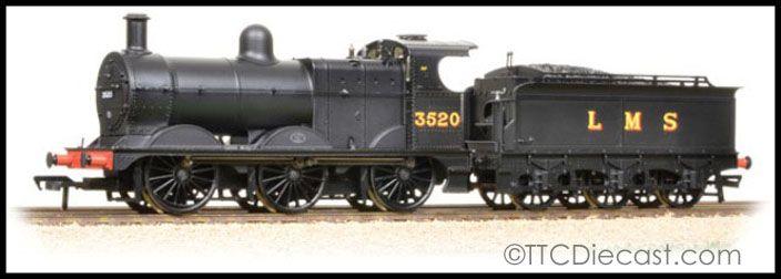 AgréAble Bachmann 31-627b Class 3f 3520 Lms Black Deeley Tender