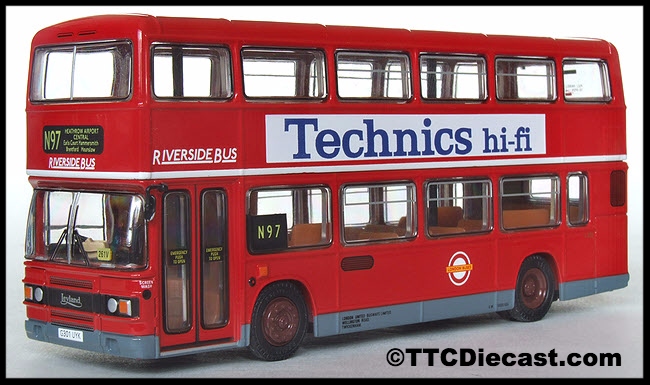 EFE 29608B LEYLAND OLYMPIAN  Riverside Bus London United  - Pre owned